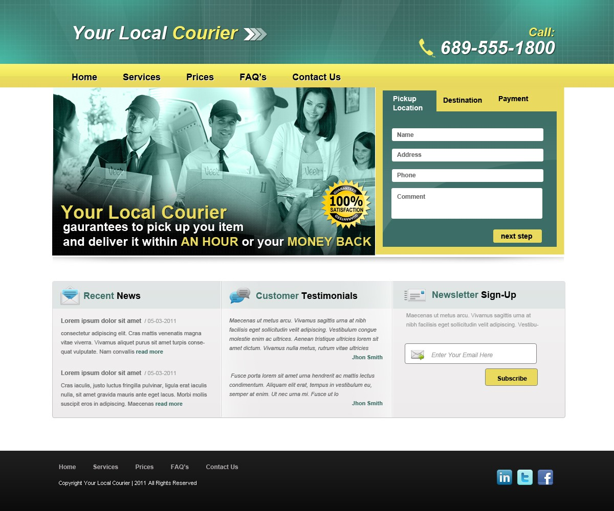 Web Page Design by Out of Limit