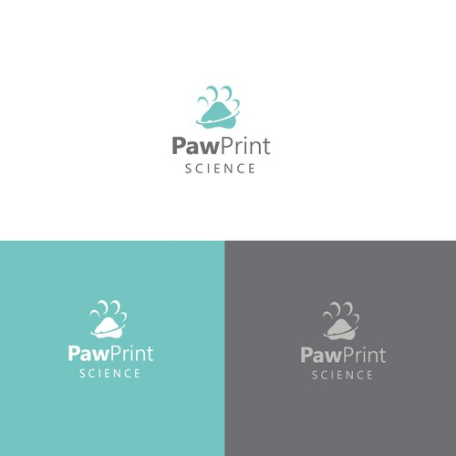 Diseño finalista de paw vector