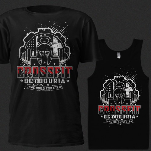 56c3b08df T-shirt CrossFit design | T-shirt contest
