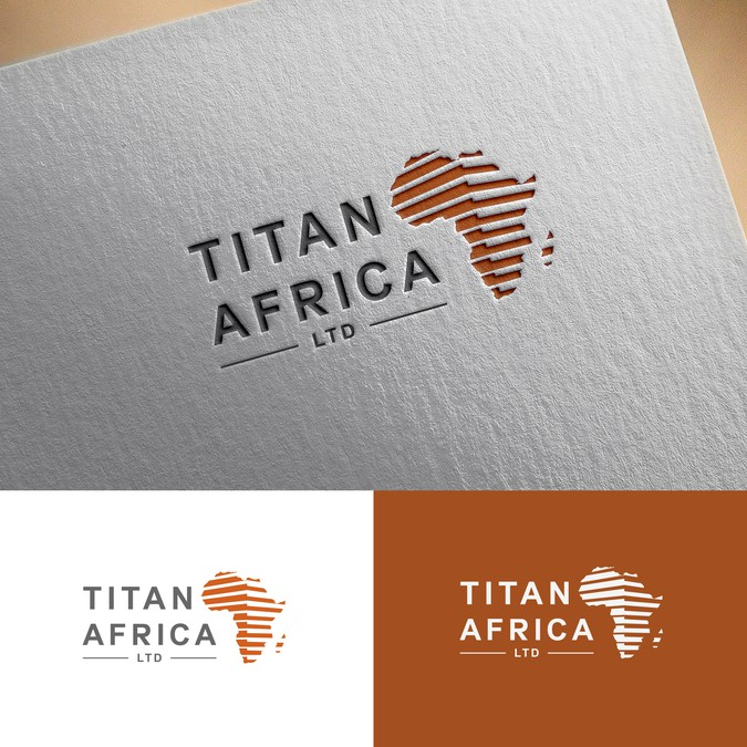 Titan africa ltd needs a creative logo to show its greatness winning design by soften colourmoves