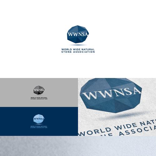 World Wide Natural Stone Association (WWNSA) needs a new logo Design by erraticus
