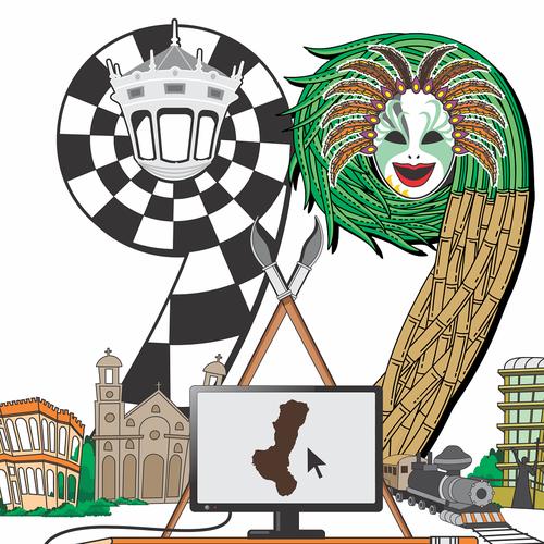 Create a cool illustration for 99designs designer meet ups event. Bacolod 9/9 Design by Jol1030