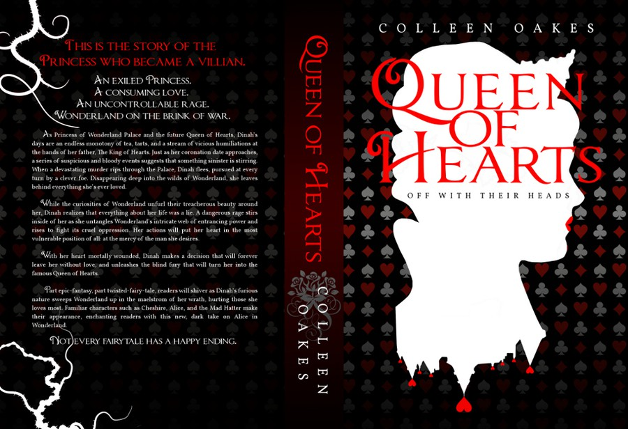 Creative Book Cover Queen : Book cover needed for queen of hearts contest