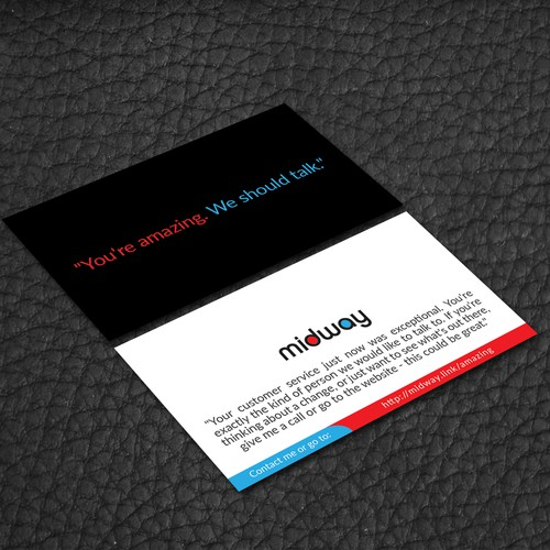 Design a recruiting card to attract retail employees business card runner up design by successseeker reheart Choice Image