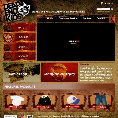 Ontwerp van finalist rosiee007