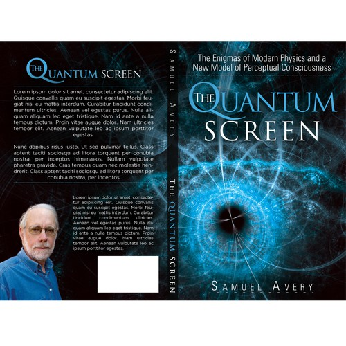 Book Cover: Quantum Physics & Consciousenss Design by srk1xz
