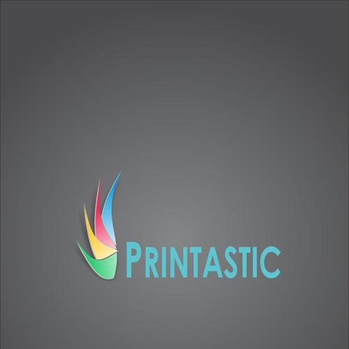 Logo for printastic logo design contest runner up design by greaser reheart Images