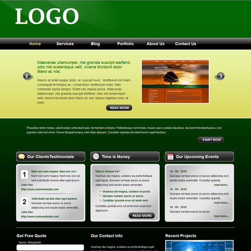 Design finalista por skywebstudio