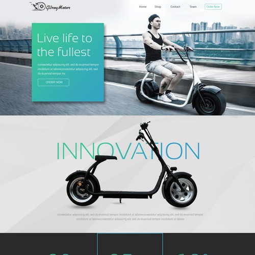Runner-up design by dini design