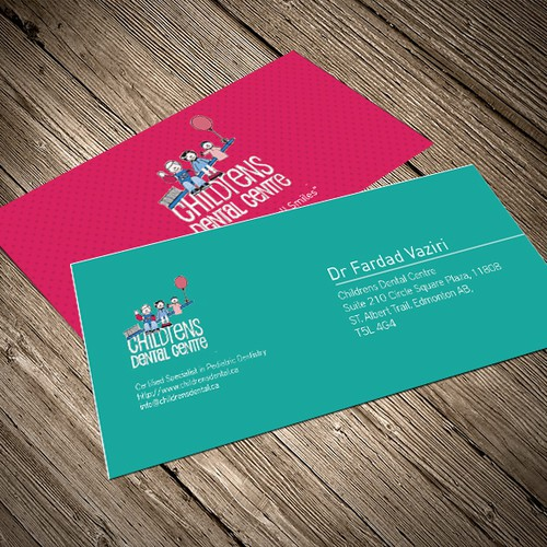 pediatric business cards