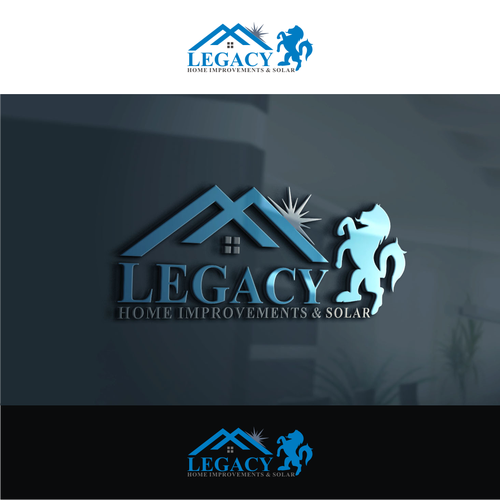Design A Logo For Roofing Company Legendary Mixed Of Modern And Classic Design Logo Social Media Pack Contest 99designs