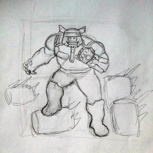Diseño finalista de Lucky the Bear