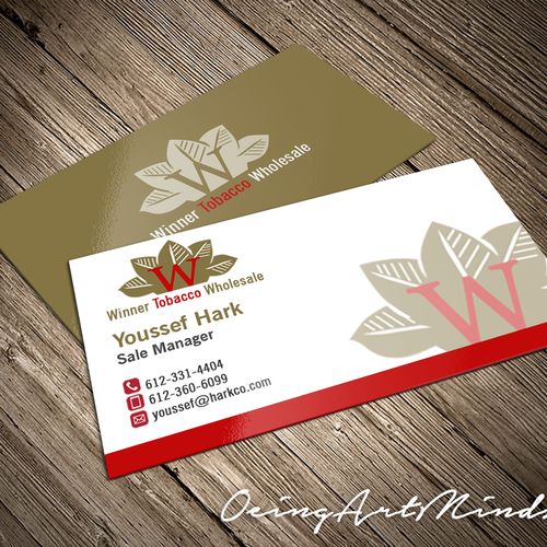Create a business card for a tobacco company business card contest runner up design by oeingartmindz reheart Choice Image