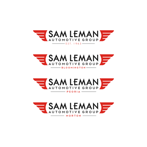Sam Leman Morton Illinois >> Clean Modern Industrialized Logo Sam Leman Automotive