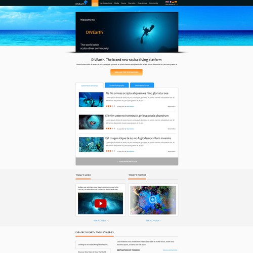 Runner-up design by HSwebmasters