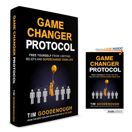 Simple Elegant Book Covers : Create a simple and elegant design for my new book game