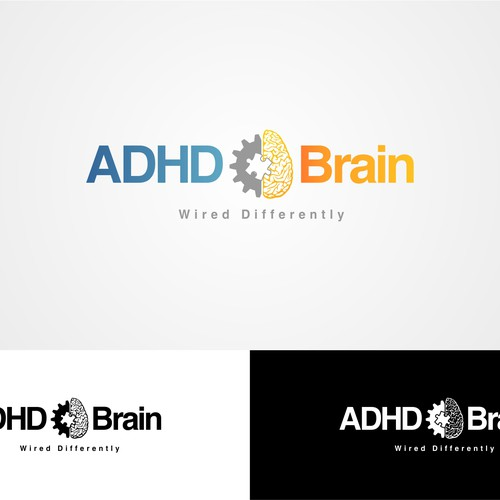 Brain Wired Differently? ADHD Podcast Artwork Needed. | Logo design ...