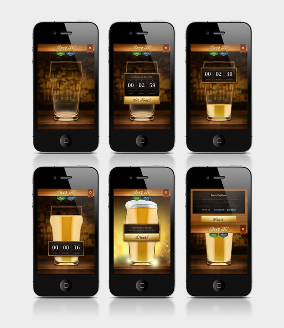The Beer:30 App Needs a UI and Icon Designed    App contest