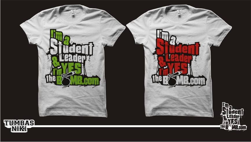 design my updated student leadership shirt t shirt contest
