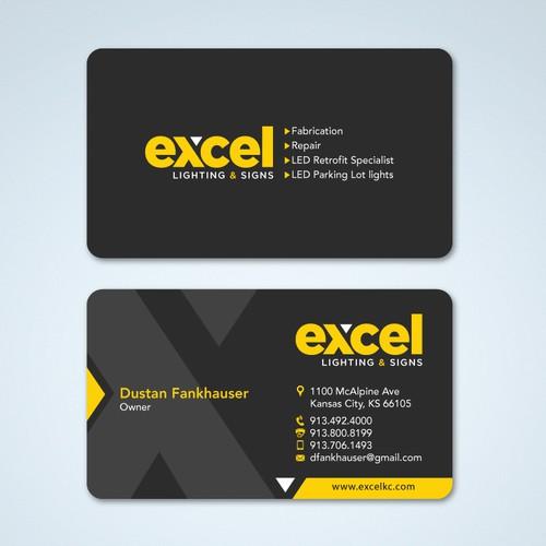 Create vibrant new business card for sign company concurso carto design finalista por tcmenk reheart Choice Image