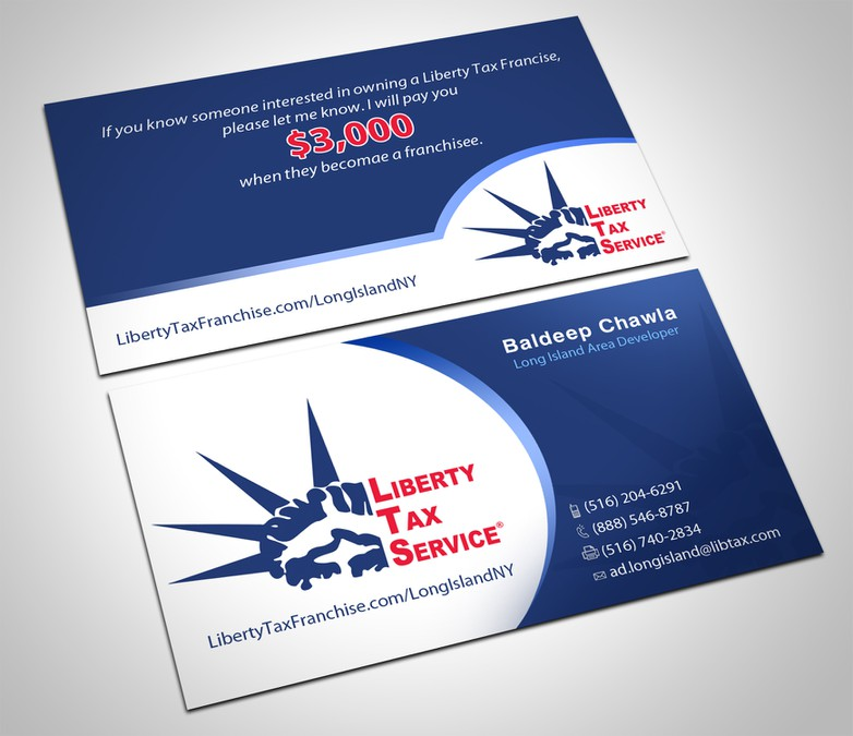 stationery for Liberty Tax Service | Stationery contest
