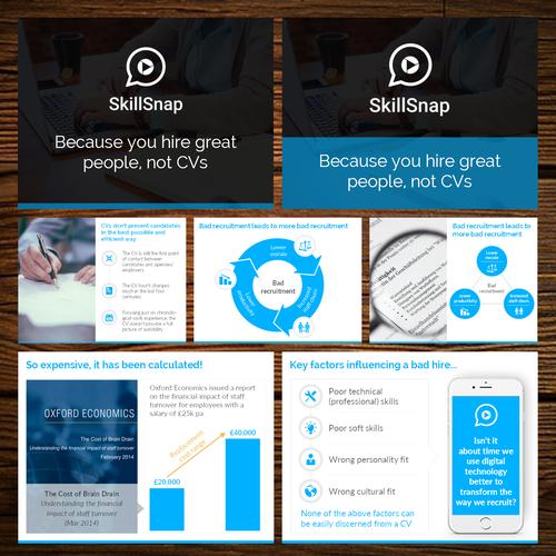 Zweitplatziertes Design von Unique Slides