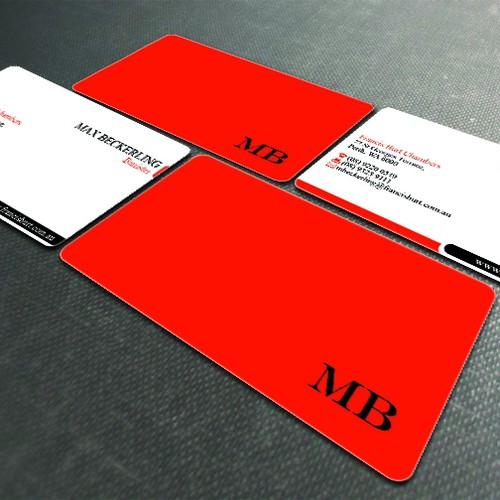 Design finalista por aMeliquor