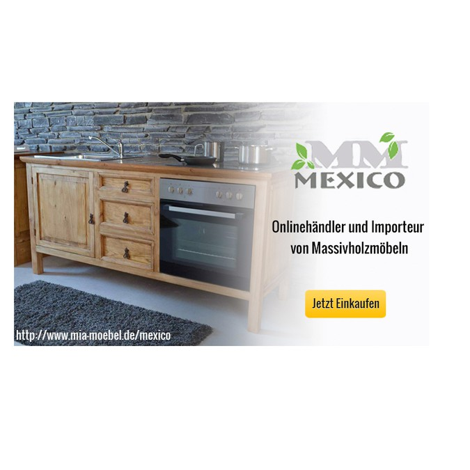 Einkaufswelt Mexico (Mexico Möbel) | Banner ad contest
