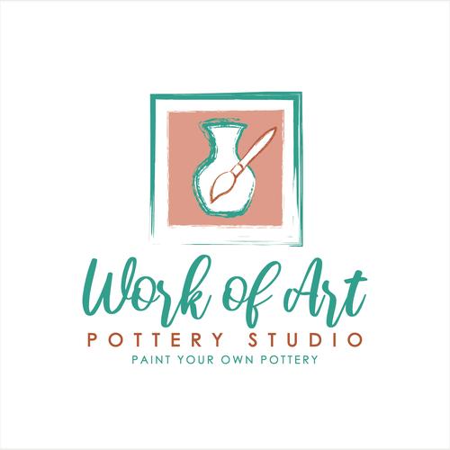 Design Our Creative Work Of Art Pottery Studio Logo Logo Design Contest 99designs