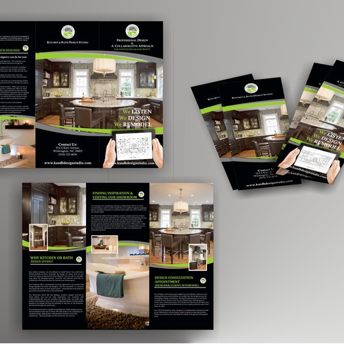 Help Kitchen & Bath Design Studio With A New Brochure