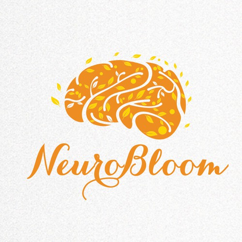 Create an elegant, brain blooming design for NeuroBloom! Design by RotRed