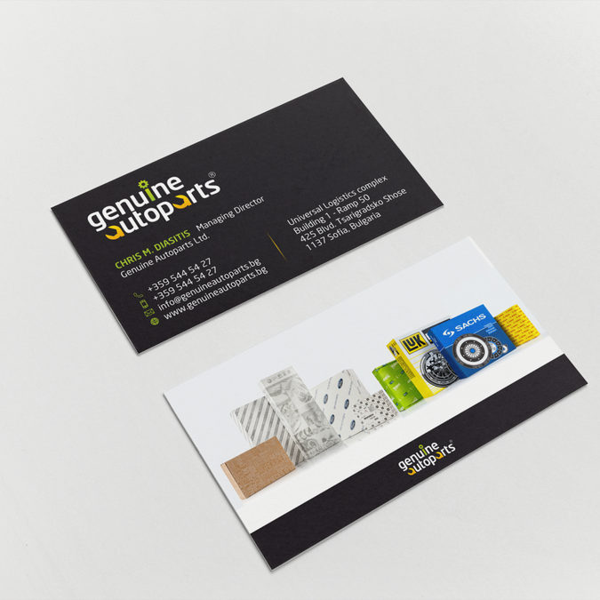 Re create a cool black background professional business card winning design by hypdesign reheart Gallery