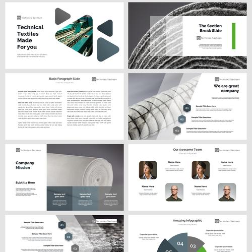 Power Point Technitex Powerpoint Template Contest 99designs