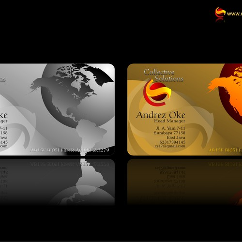 Runner-up design by andrez ka'abah