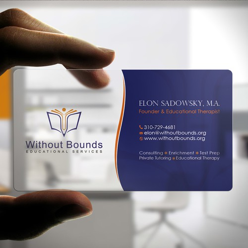 Business cards for without bounds concurso carto de visita design finalista por zayden reheart Choice Image