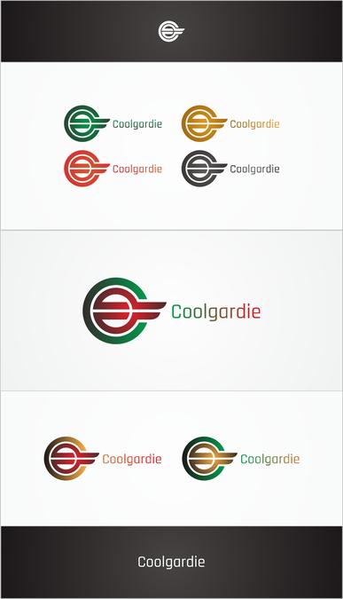 Winning design by ambigram
