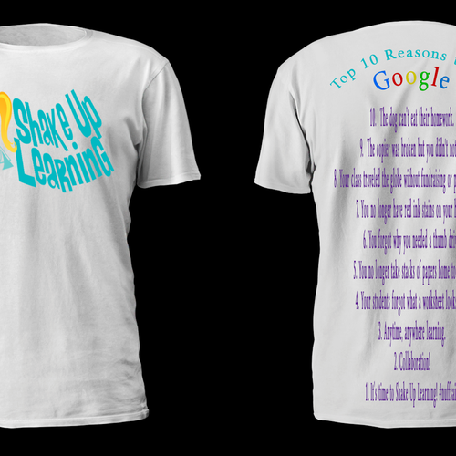 Shake Up Learning T Shirt T Shirt Contest