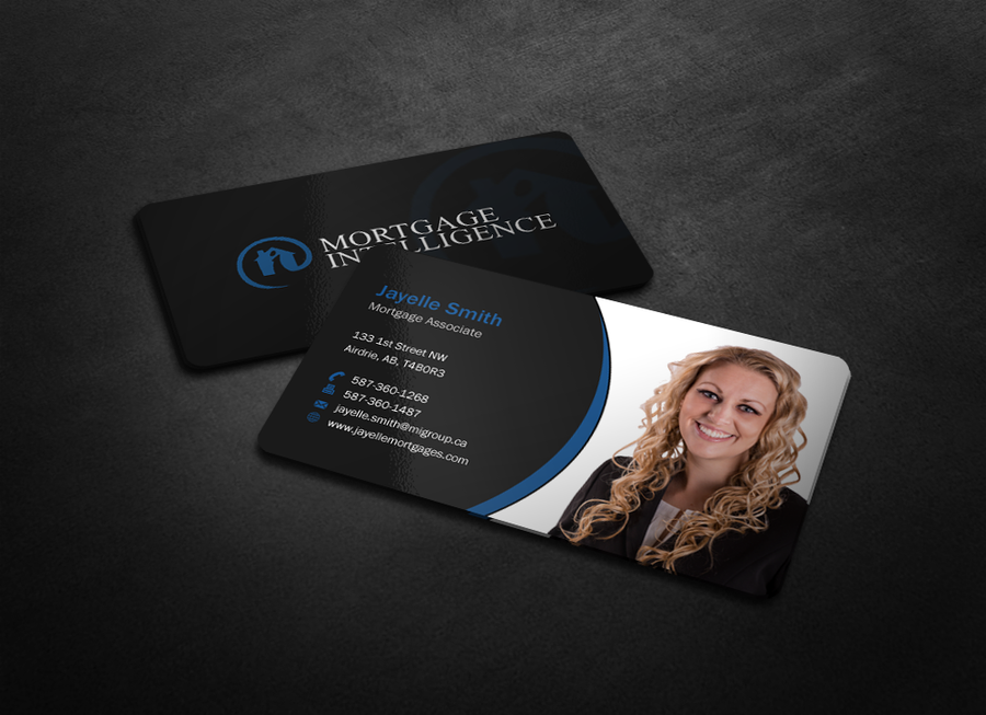Create a Business card for Mortgage Associate Jayelle Smith ...
