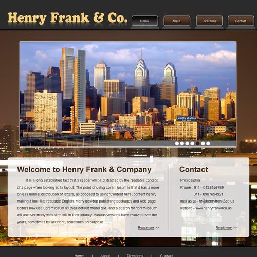Ontwerp van finalist infoweb