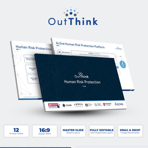 Design An Investor Deck Cyber Security Start Up Pitch To Vc Investors For Funding Powerpoint Template Contest 99designs