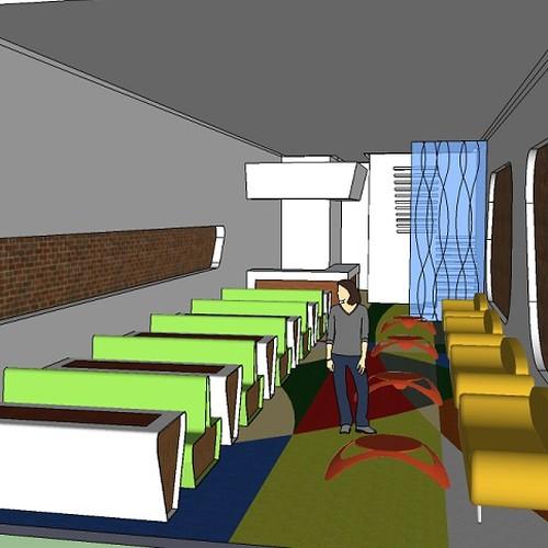Allegro cafe needs a simple interior design seating for Interior design 99designs