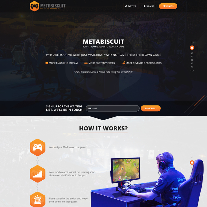Winning design by MeetP