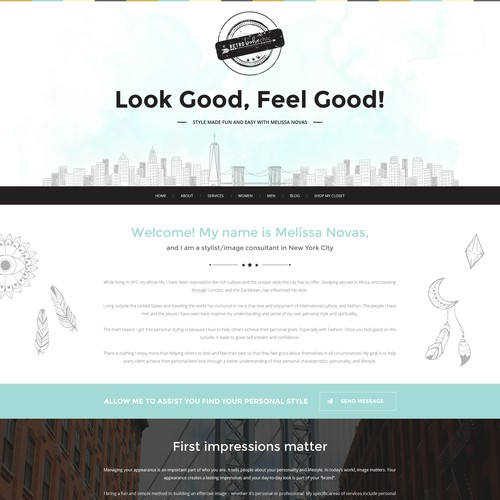 Runner-up design by WebDesignJam