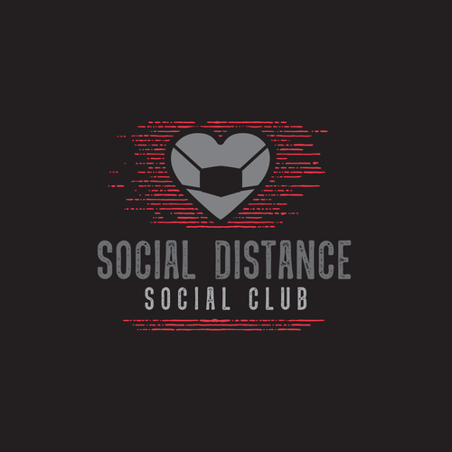 Social Distance Social Club Logo Design Contest 99designs