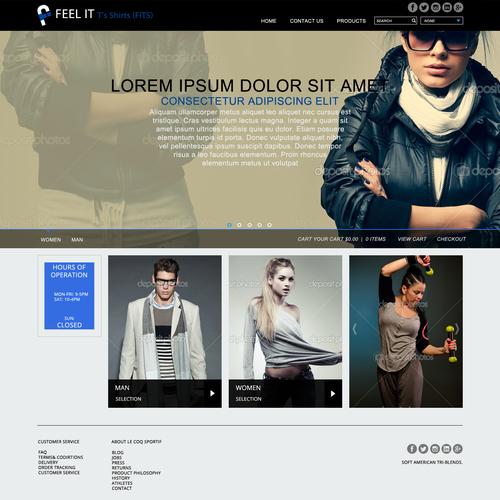 Design finalista por Designtwopay