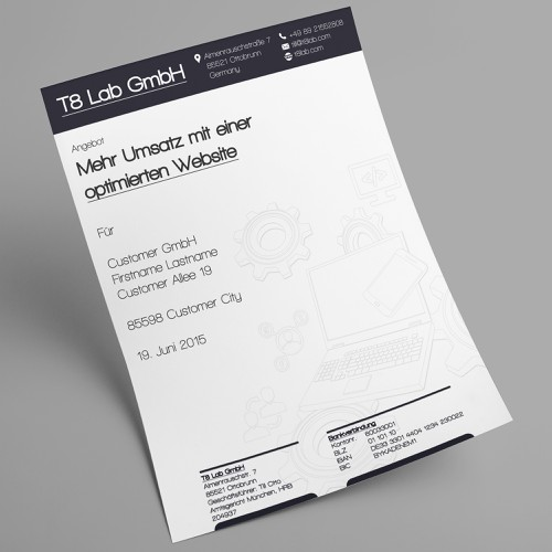 Diseño finalista de Uprising Freelance