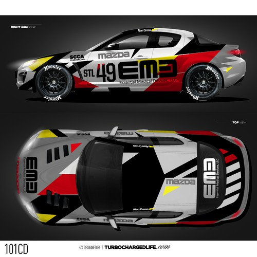 Design A Winning Race Car Wrap Car Truck Or Van Wrap Contest