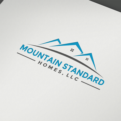 Create a modern classic logo for mountain standard homes for Design homes llc