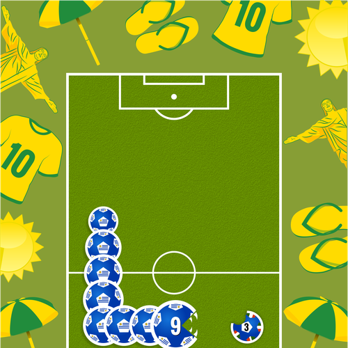 Community Contest: The 99designs Cup #99SoccerCup Design by Mohak Ahuja