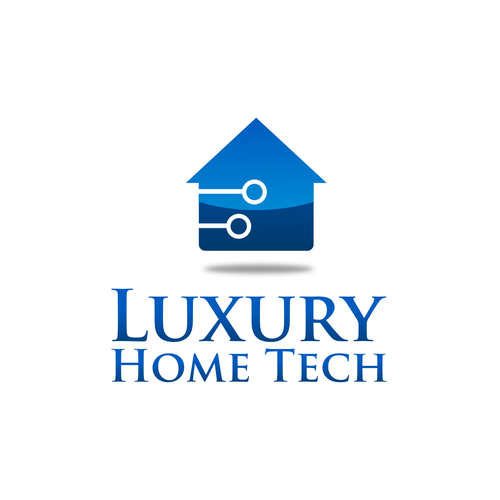 Create A Modern And Tech Related Logo For A Home